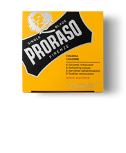Load image into Gallery viewer, PRORASO REFRESHING COLOGNE TOWELETTES: WOOD & SPICE