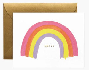 Smile Rainbow Greeting Card