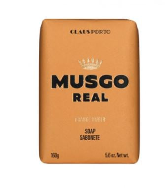 MUSGO REAL BODY SOAP  ORANGE AMBER