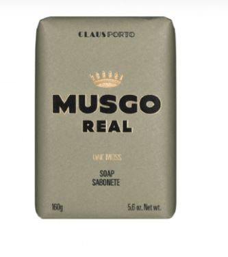 MUSGO REAL BODY SOAP  OAK MOSS