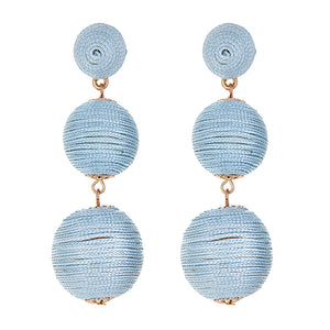 WELLINGTON EARRING Ice Blue