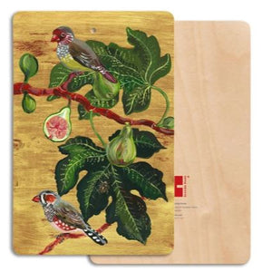 FIG TREE CUTTING BOARD