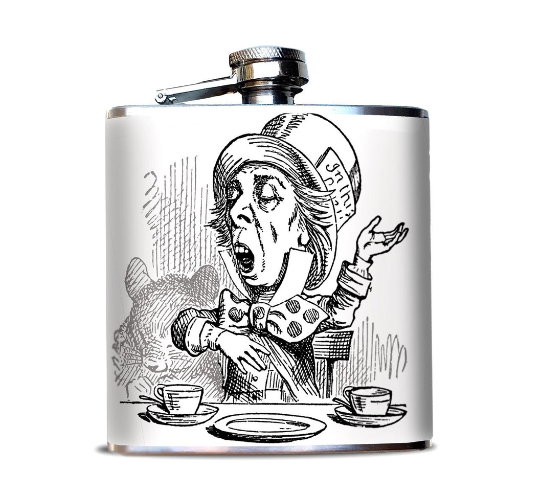 Mad Hatter  Flask