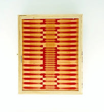 Load image into Gallery viewer, Travel Backgammon Set  Pink Dart