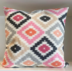 Zig Zag Diamond  Pillow