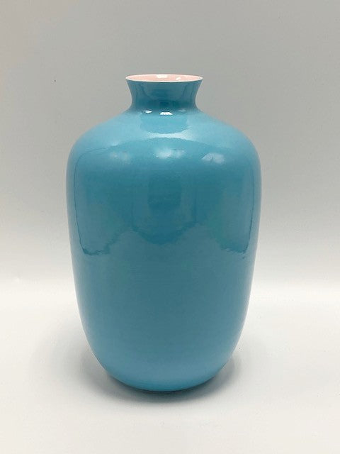 Turquoise & Pink Vase