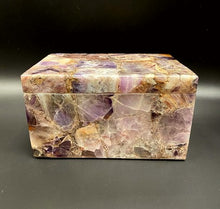 Load image into Gallery viewer, Amethyst Crystal Glass Box