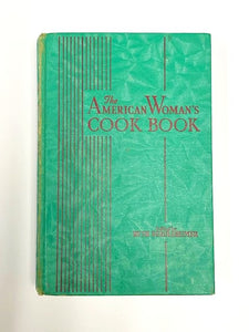 VINTAGE: The American Woman's Cook Book 1942