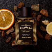 Load image into Gallery viewer, MISTRAL BLACK AMBER EAU DE PARFUM