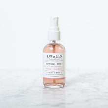 Load image into Gallery viewer, OXALIS APOTHECARY TONING MIST | ROSE + NEROLI