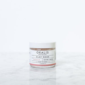OXALIS APOTHECARY GERANIUM CLAY MASK | RESTORE + SOOTHE