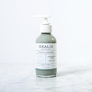 OXALIS APOTHECARY FACIAL CLEANSER | FRENCH SEA CLAY + PINEAPPLE ENYZMES