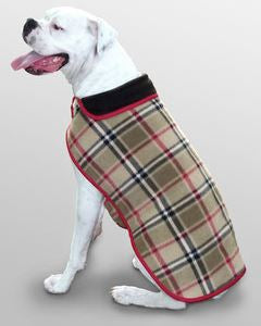 DOG COAT  LONDON PLAID