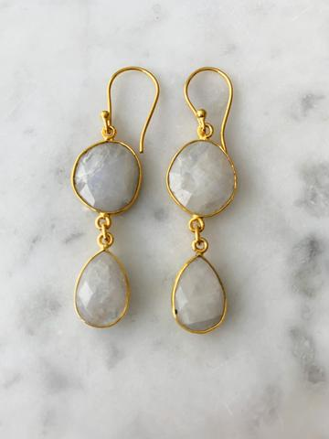 ROME MOONSTONE EARRINGS