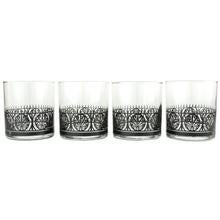 IRON GATE GLASS Set of Four