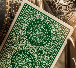 THEORY11 PLAYING CARDS  GREEN TYCOON