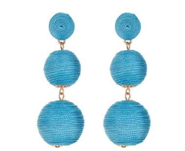 Wellington Earrings  Turquoise