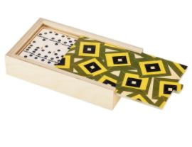 ALMA GREEN DOMINO SET