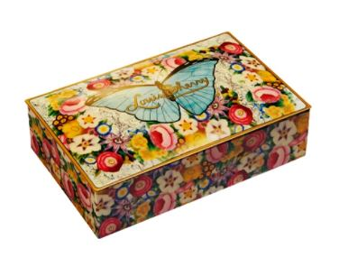 Louis Sherry 12 Piece Tin  Butterfly By John Derian