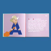 Load image into Gallery viewer, COUNTRY LEGENDS ALPHABET BOOK