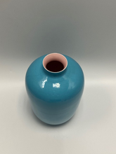 Load image into Gallery viewer, Turquoise & Pink Vase