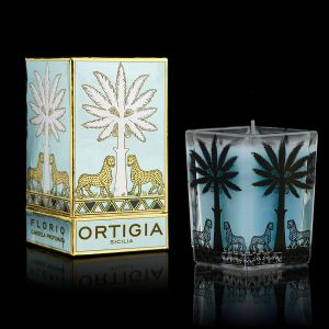 Florio Large Square Candle