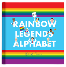 Load image into Gallery viewer, RAINBOW LEGENDS ALPHABET BOOK