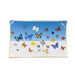 Gray Malin Porcelain Butterfly Tray