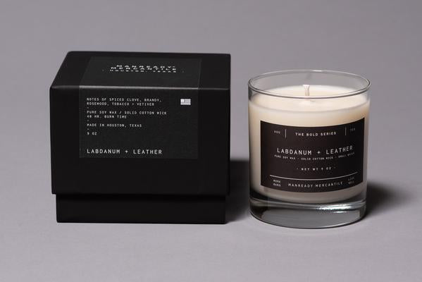 THE BOLD SERIES SOY CANDLE | LABDANUM + LEATHER