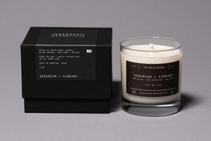THE BOLD SERIES SOY CANDLE | GERANIUM + CURRANT