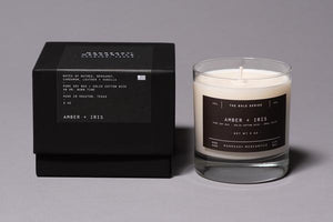 THE BOLD SERIES SOY CANDLE | AMBER + IRIS