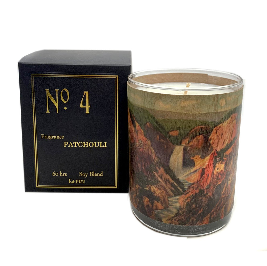 No4 Patchouli Candle