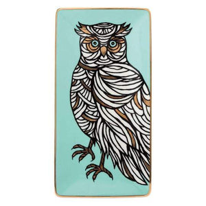 PATCH NYC Owl Porcelain Tray
