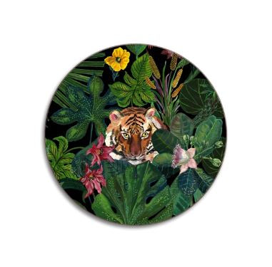 JungleTiger Coasters  Set Of Four