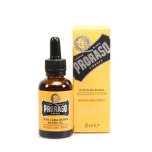 Load image into Gallery viewer, PRORASO BEARD OIL: WOOD & SPICE