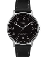 Load image into Gallery viewer, Timex Waterbury Classic Black Dial Stainless Steel Watch