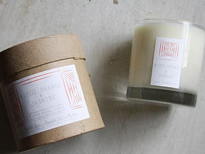 Blood Orange & Jasmine Botanical Candle