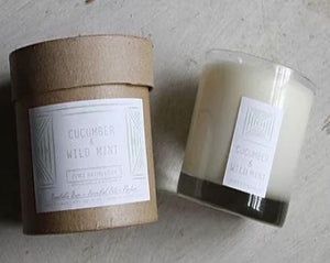 Cucumber & Wild Mint Botanical Candle
