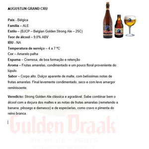 Augustijn Grand Cru 33cl - Gulden Draak