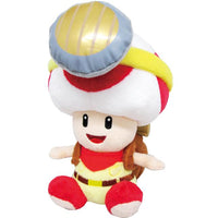 "Super Mario All Star Collection Captain Toad 6.5"" Plush"