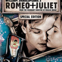 Romeo + Juliet DVD Used