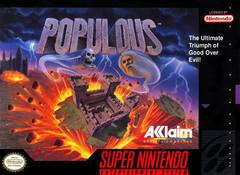 Populous (Cartridge Only) SNES Used