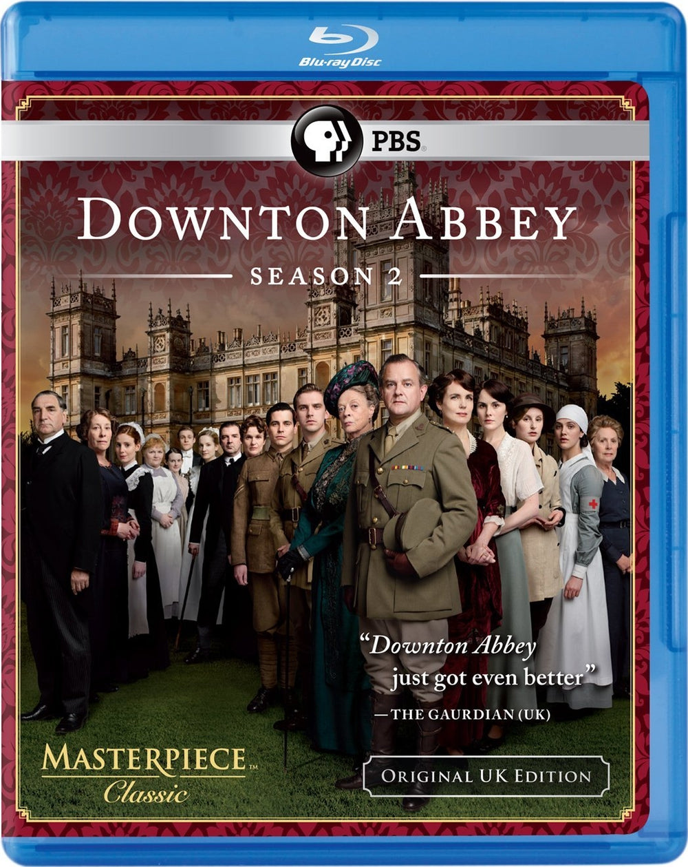 Downton Abbey Season Two Blu-ray Used
