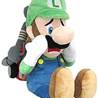 "Luigi's Mansion Scared Luigi w/ Strobulb 7"" Plush"