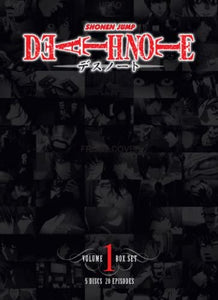 Death Note Volume 1 Box Set DVD Used