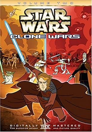 Star Wars Clone Wars Volume Two DVD Used