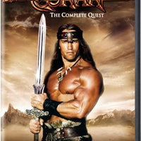 Conan The Complete Quest DVD Used