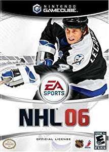 NHL 06 GameCube Used