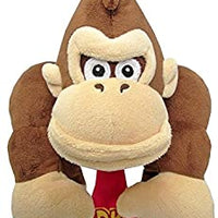 "Super Mario All Star Collection Donkey Kong 10"" Plush"