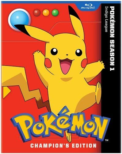 Pokemon Indigo League Season 1 Champion's Edition Blu-ray Used
